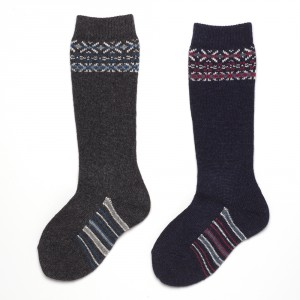 Fairisle sock A